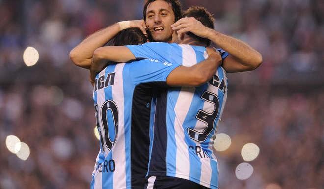 Diego Milito se despidió de sus hinchas.