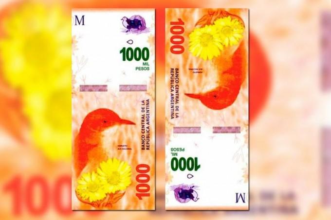Así es el billete de $1000 que comenzará a circular en octubre
