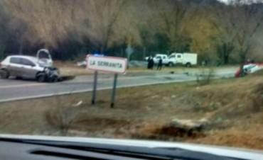 Una mujer murió en un choque en la ruta 5 de Córdoba