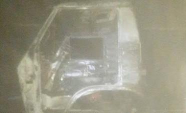 VILLA MARIA: Un soldador sufrió graves quemaduras al lado de un camión