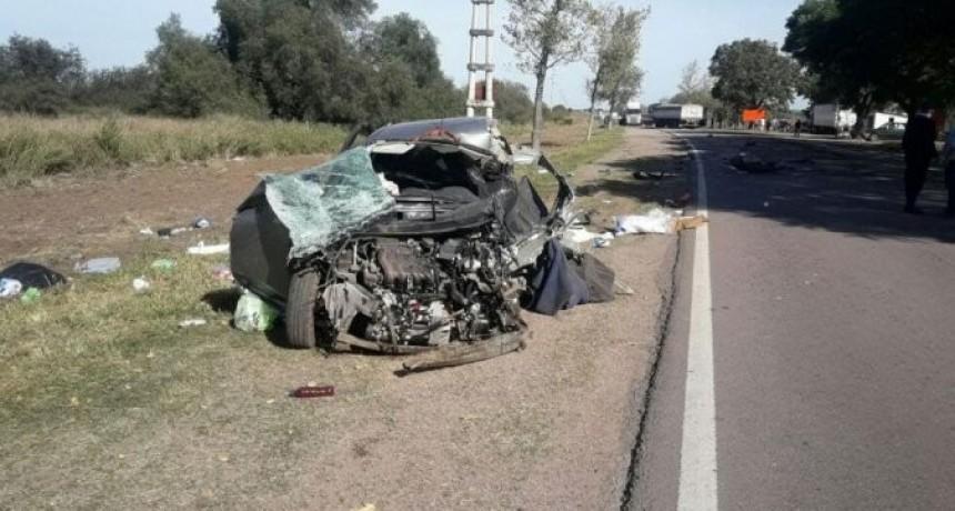 Trágico accidente, una mujer de Estados Unidos falleció en ruta cordobésa