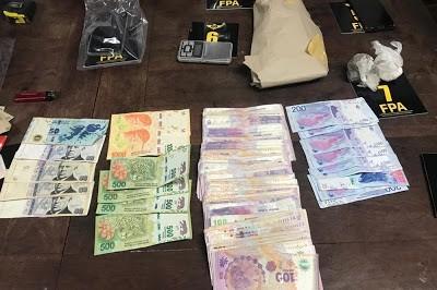 Detienen a cinco personas por narcomenudeo en Marcos Juárez