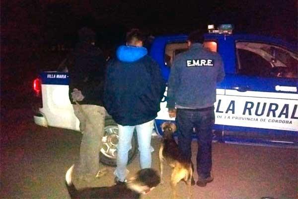 Los tomaron por cazadores y quedaron detenidos con perros y palas