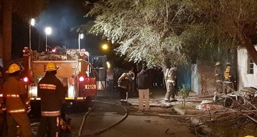 Murió un hombre en incendio de una vivienda en Bell Ville