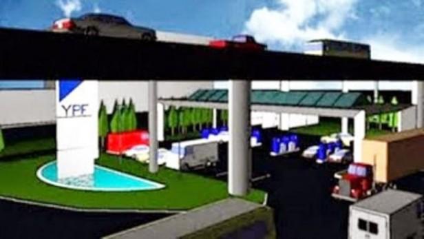 Se inició la construcción de área de servicios en Leones