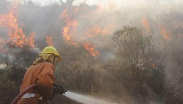 Alto riesgo de incendios en el noroeste