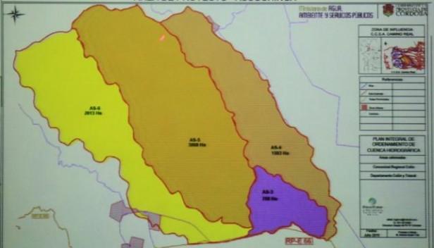 Sumarán 18 microembalses para retener aguas en la cuenca del río Jesús María