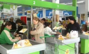 Supermercados cobrarán las bolsas