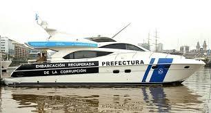 Presentaron el barco de Ricardo Jaime que será utilizado contra el delito