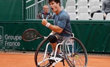 En lo más alto: el argentino Gustavo Fernández es el número uno del mundo de tenis en silla de ruedas