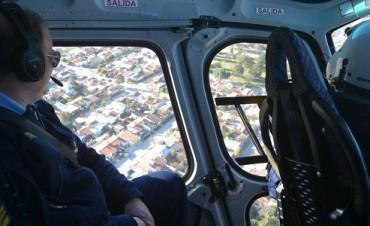 """Con helicóptero, móviles y varios policías """"invadieron"""" la zona norte"""
