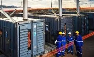 Principio de incendio en la planta de energía de Aggreko