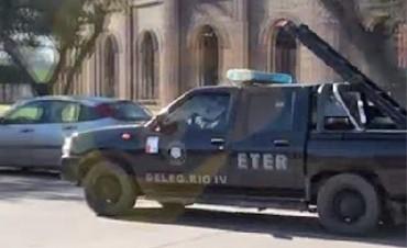 Por un robo en Río Cuarto, personal local allanó viviendas en Corral de Bustos
