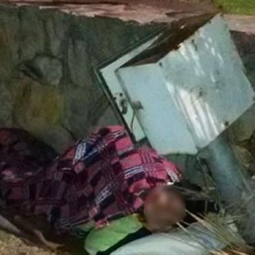 Volvió a dormir en la intemperie un hombre rescatado por una familia