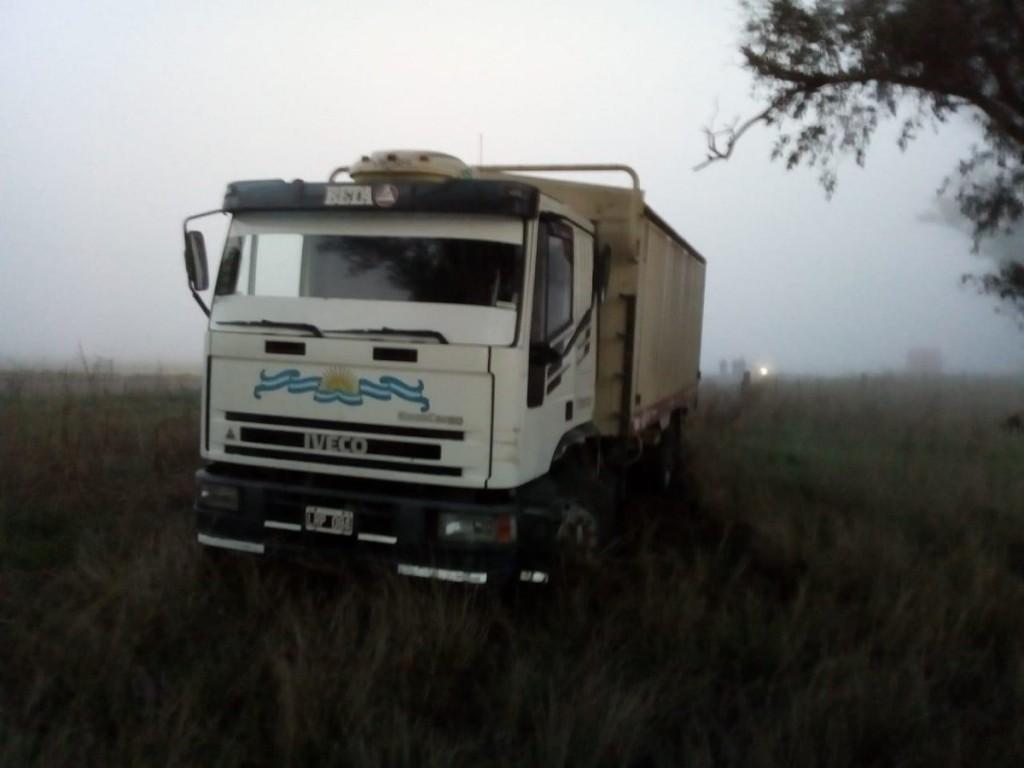 Accidente entre tres camiones en ruta 9 entre Marcos Juàrez y General Roca