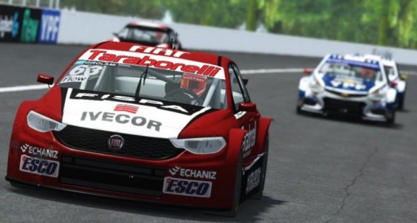 Franco Girolami ganó por primera vez en el Súper TC2000 eSport, en la apertura del Campeonato de las Estrellas 3, en Rafaela.