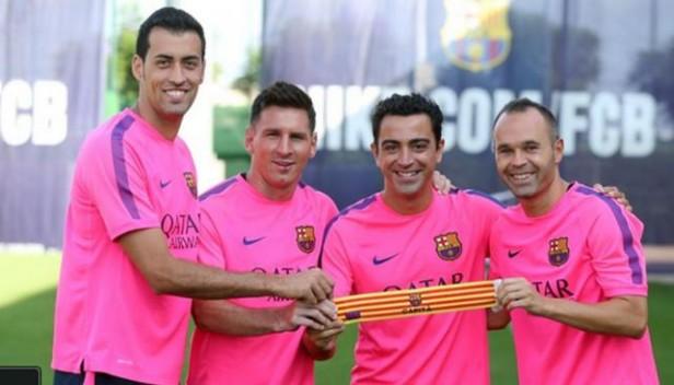 Lionel Messi fue elegido como uno de los capitanes del próximo Barcelona