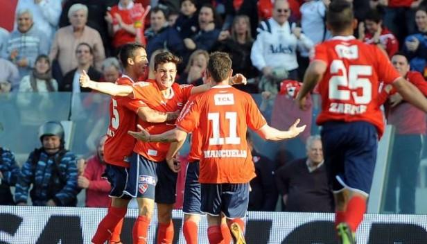 En su regreso a Primera, Independiente goleó a Atlético de Rafaela