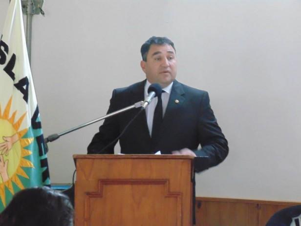 El Jefe de Policía  Julio César Suárez en nuestra localidad