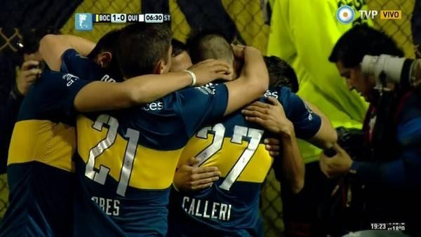 Con la cabeza en el Superclásico, Boca pasó a Quilmes