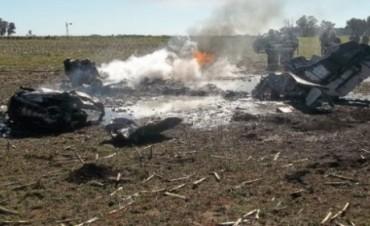 Cayó una avioneta en General Villegas: dos heridos de gravedad