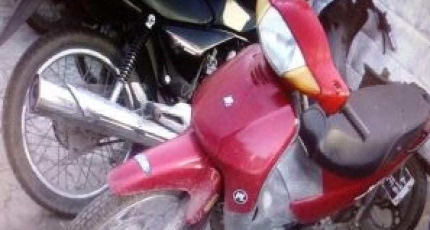 MARCOS JUAREZ: Robo y recupero de una moto