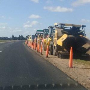 Se paralizaron las obras en ruta Provincial 15 tramo Armstrong- Cruz Alta