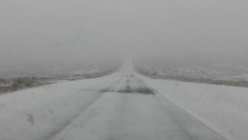Por nieve en la ruta, sigue cortado el Camino de las Altas Cumbres