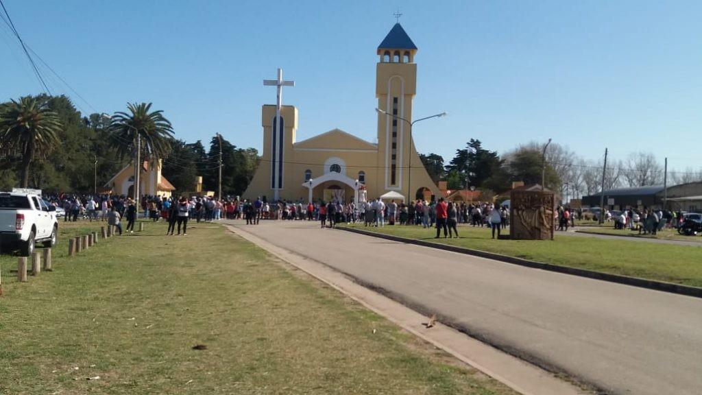 Alrededor de 900 personas en el Saladillo