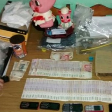 Cinco detenidos y secuestro de droga y dinero en el interior de Córdoba