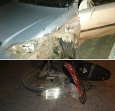 VILLA MARIA: Venía alcoholizado en moto y protagonizó un accidente grave en Ruta 9
