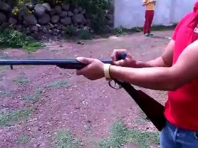 Villa Nueva: quiso romper una escopeta y se efectuó un disparo fatal