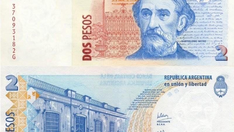 El billete de 2 pesos saldrá de circulación y será reemplazado