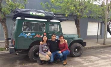 Una familia cordobesa viajará hasta Alaska en un Jeep de 1957