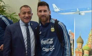 Eliminatorias rumbo a Rusia La Selección está en Ecuador y fue recibida por Luis Juez