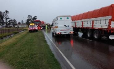 MURPHY Tres víctimas fatales en un choque en Ruta 33.