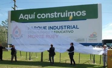 INAUGURARON EL PARQUE INDUSTRIAL Y TECNOLÓGICO DE MONTE BUEY