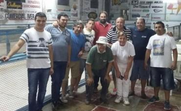 ULTIMANDO DETALLES PARA DAR INICIO AL CAMPEONATO DE BOCHAS QUE VA A RELIZAR EN NUESTRA LOCALIDAD