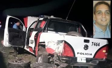 Murió un policía de la Caminera tras ser atropellado por una camioneta