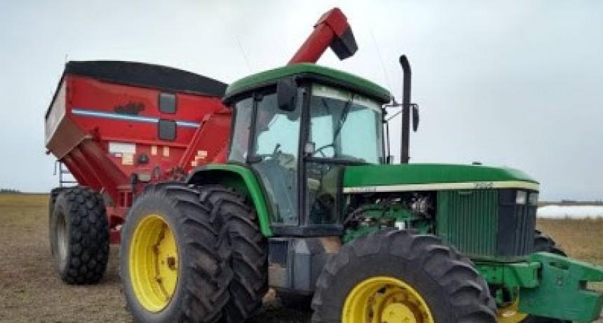 Pascanas: Robaron 25 toneladas de soja en un camión