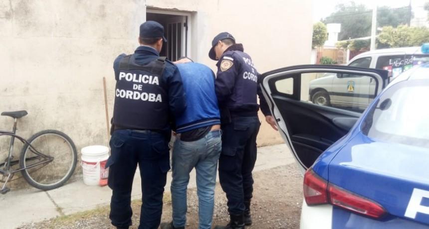 Laborde, Detenido por agredir a su ex pareja y violar restricción de acercamiento