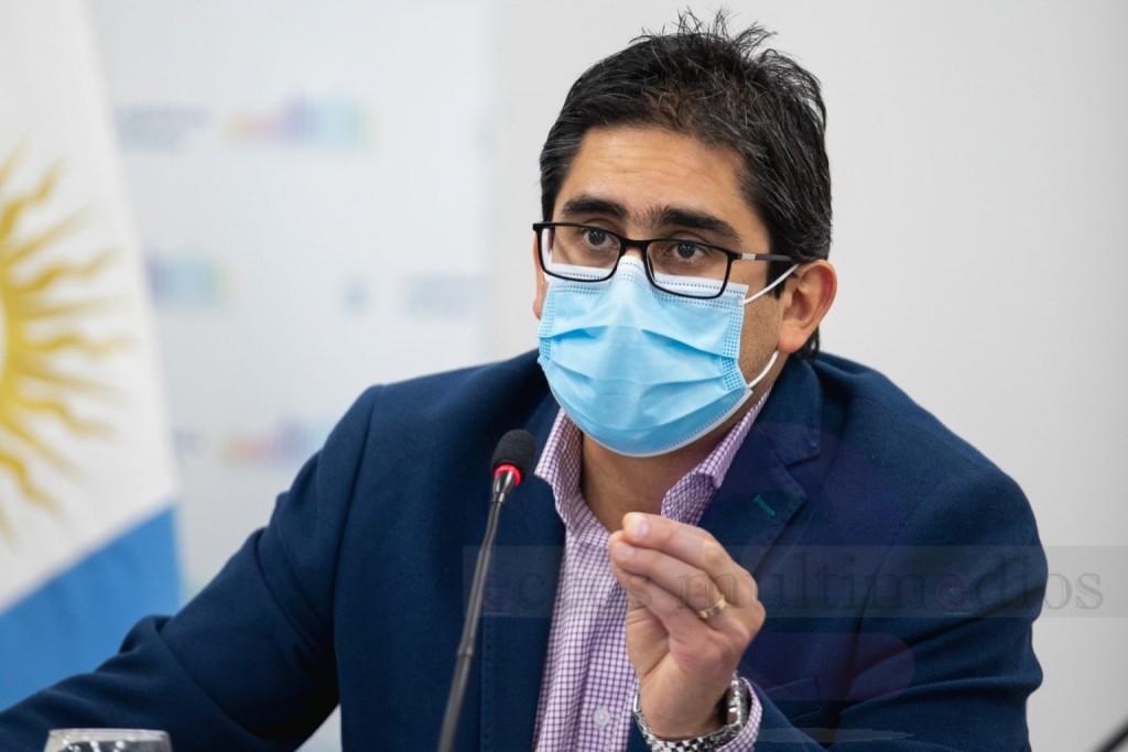 Córdoba: El ministro de Salud dijo que estamos en un momento de ascenso de casos y que Córdoba sigue priorizando la salud de las personas.