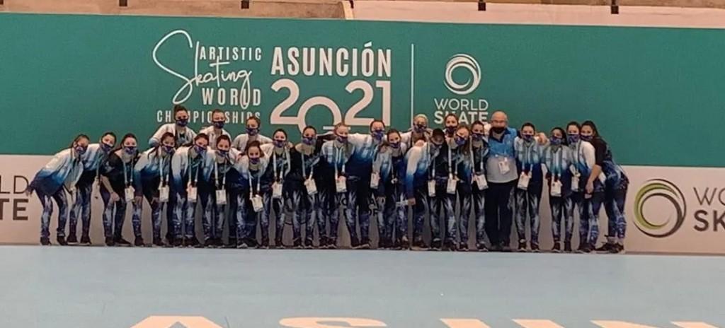 Florencia Martín, participó del Mundial de Patín, que se realizó en Paraguay, el 9 de Octubre.