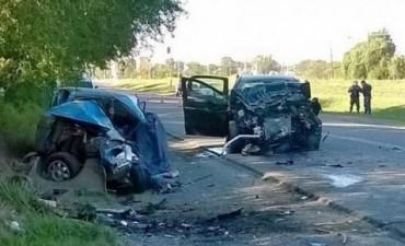 Dos muertos tras choque múltiple en el ingreso a Córdoba