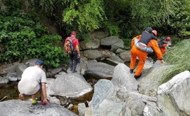 Rescatan a un padre y sus dos hijos perdidos en el cerro Champaquí