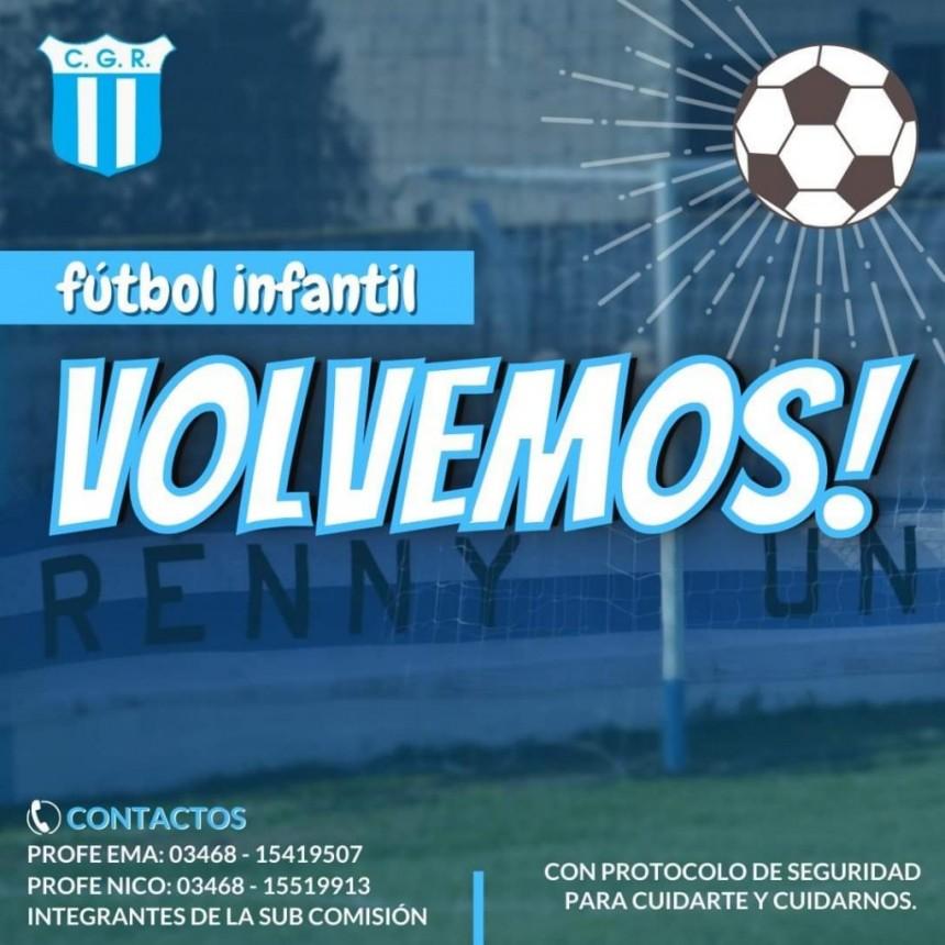 Wenceslao Escalante - Volvieron las prácticas de Futbol Infantil.