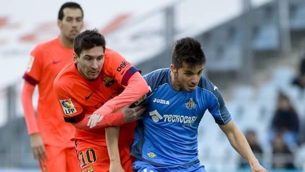 Barcelona no pudo con Getafe y se aleja