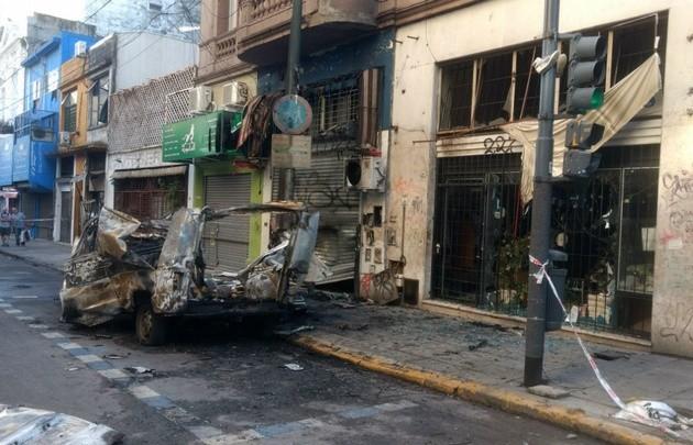 Alarma: explotó una camioneta en cercanías del Congreso