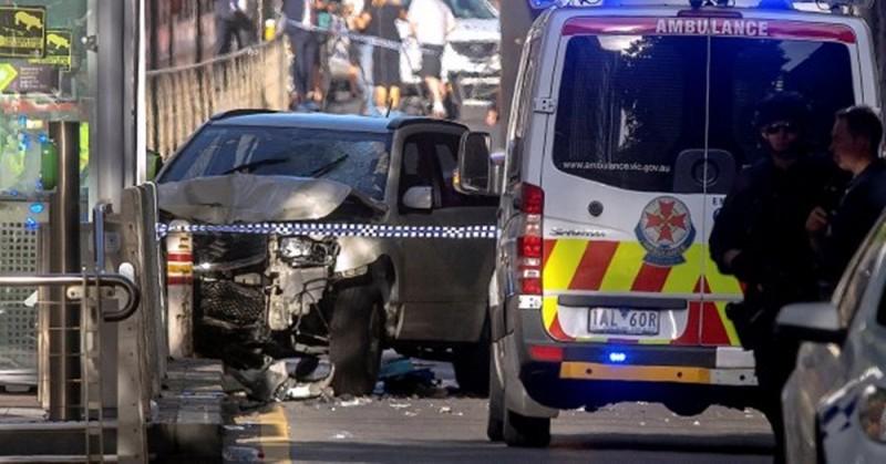 Australia: atropello masivo en Melbourne dejó al menos 19 heridos y dos detenidos