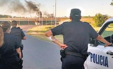 Incidentes y detenidos en intento de saqueo en un hipermercado de Luján